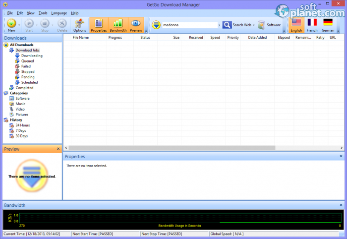 how to use getgo download manager