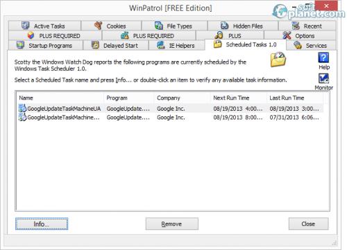 WinPatrol Screenshot2