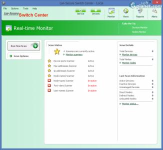 Lan-Secure Switch Center Screenshot2