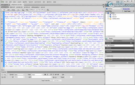 Dreamweaver Screenshot2