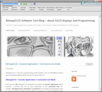 Bitmap2LCD Screenshot2
