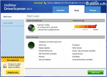DriverScanner 2014 Screenshot4