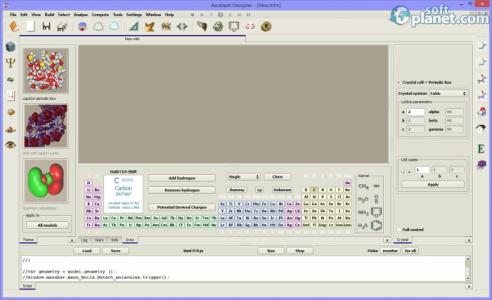 Ascalaph Designer Screenshot2