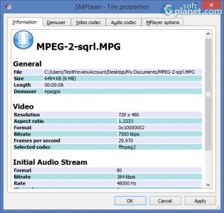 SMPlayer Screenshot3