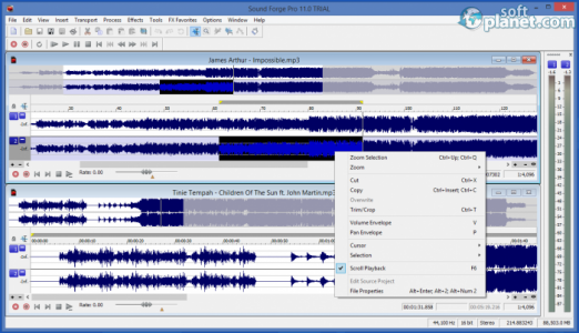 Sound Forge Pro Screenshot4