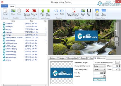 Hexonic Image Resizer Screenshot3