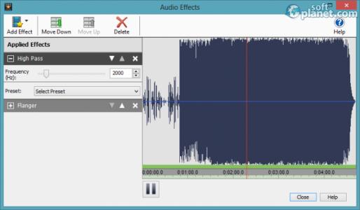 VideoPad Video Editor Screenshot3