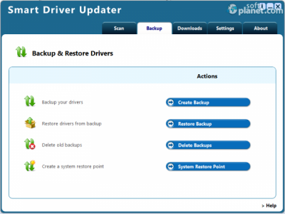 Smart Driver Updater Screenshot2