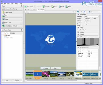 ZoomBrowser EX Screenshot2