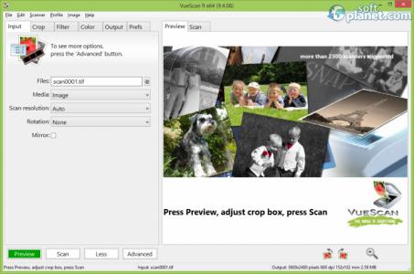 VueScan Screenshot2