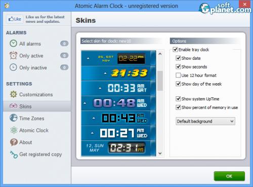 Atomic Alarm Clock Screenshot3