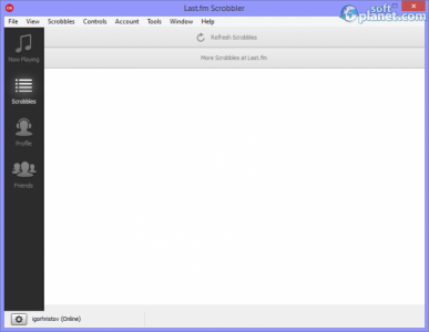 Last.fm Scrobbler Screenshot2