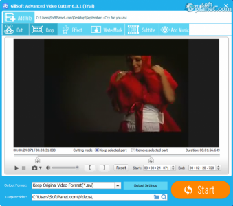 GiliSoft Video Editor Screenshot3