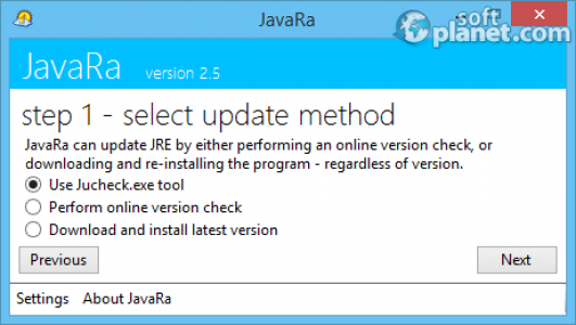 JavaRa Screenshot4
