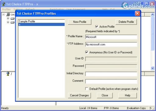 1st Choice FTPPro 8.77