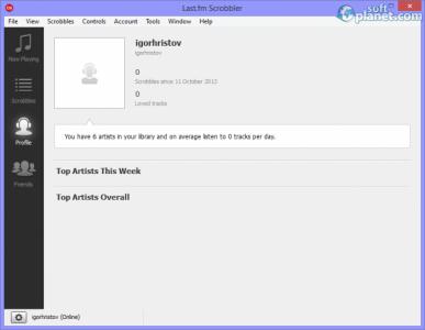 Last.fm Scrobbler Screenshot3