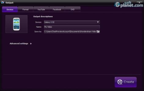 Wondershare Video Editor Screenshot5