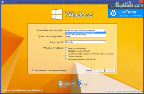 Windows 8 Transformation Pack System files transformation