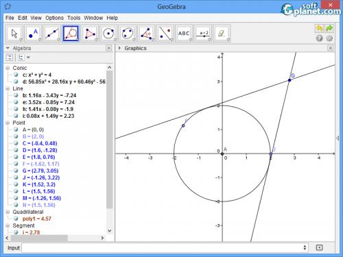 GeoGebra Screenshot3