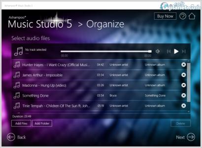 Ashampoo Music Studio Screenshot2
