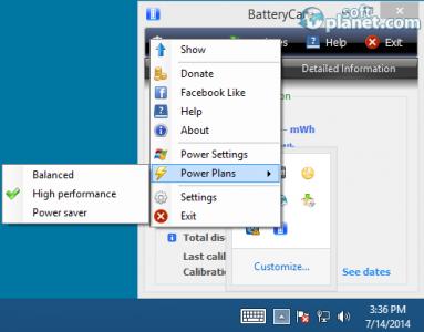 BatteryCare Screenshot4