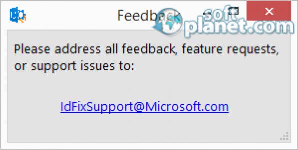 IdFix Screenshot3