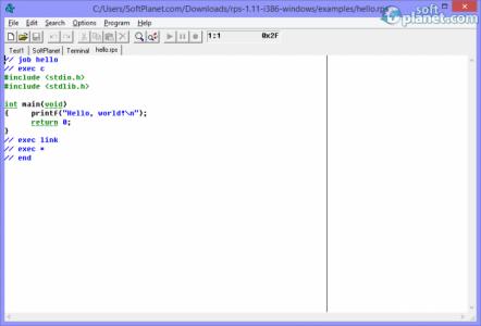 RPS Text Editor Screenshot4