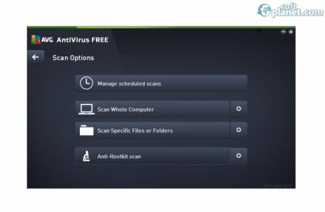 AVG AntiVirus Free Screenshot2