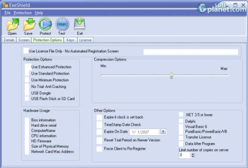 ExeShield Screenshot2