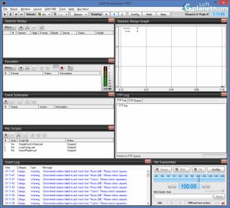 SAM Broadcaster Screenshot2