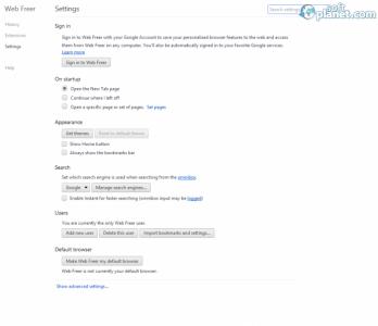 Web Freer Screenshot2