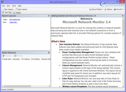 Microsoft Network Monitor Screenshot2