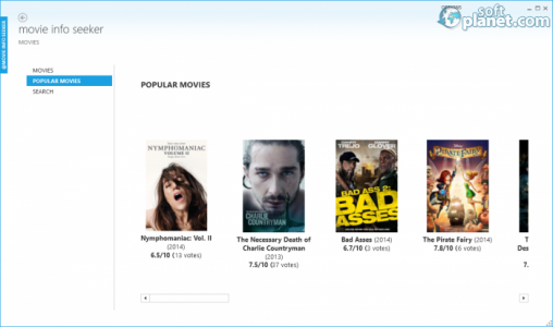 Movie Info Seeker Screenshot2