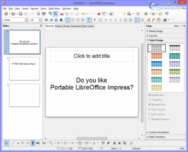 Portable LibreOffice Screenshot3