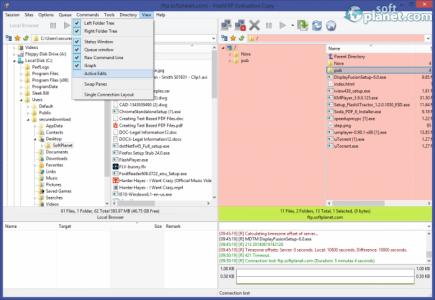 FlashFXP Screenshot2