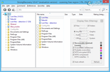 StrongRecovery Screenshot3