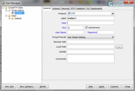 CrossFTP Screenshot2