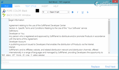 Bell Office Screenshot2