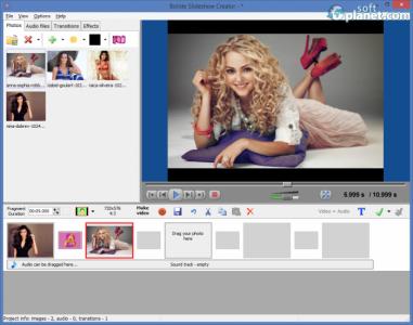 Bolide Slideshow Creator Screenshot2