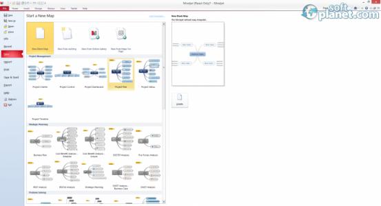 Mindjet MindManager Screenshot2