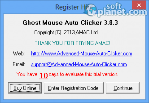 Ghost Mouse Auto Clicker Screenshot4