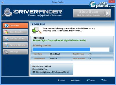 DriverFinder Screenshot2