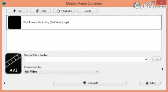 Mobile Media Converter Screenshot4