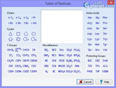 ACD/ChemSketch Screenshot4