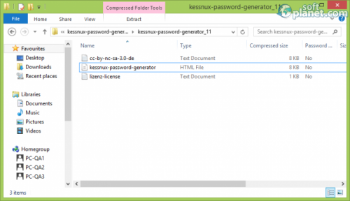 Kessnux Password Generator Screenshot3