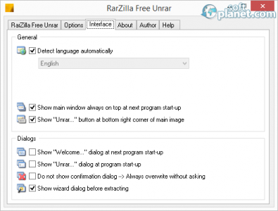 RarZilla Free Unrar Screenshot3