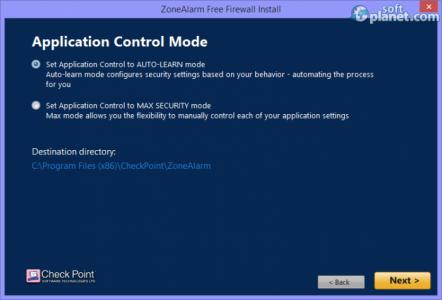 ZoneAlarm Free Firewall Screenshot5
