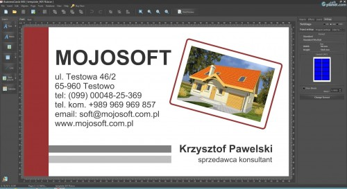 BusinessCards MX Screenshot2