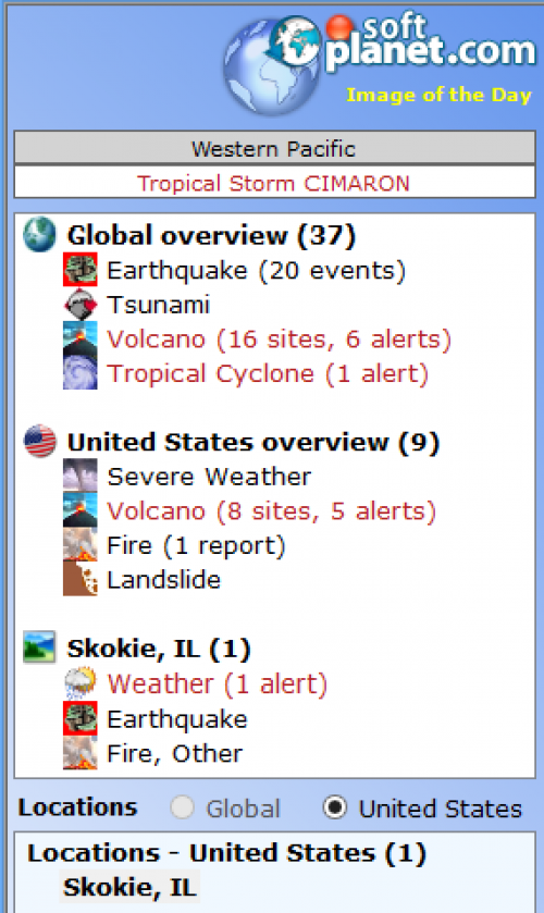Earth Alerts Screenshot4