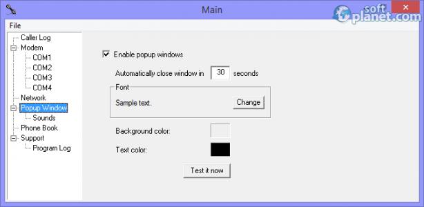 Network Caller ID Screenshot2